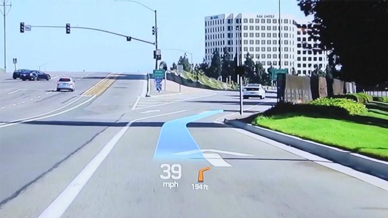 Hyundai présente un dispositif AR intégré dans le pare brise !
