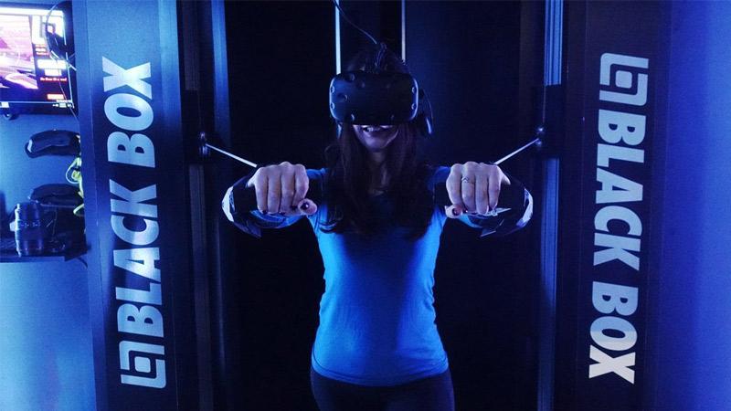 Découvrez Black Box VR, une salle fitness en réalité virtuelle !