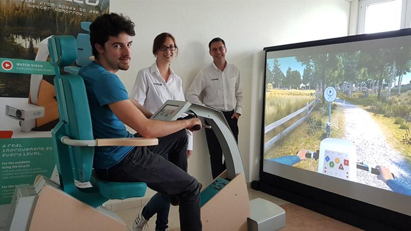 Startup du mois : Cottos Médical, la VR pour les seniors !