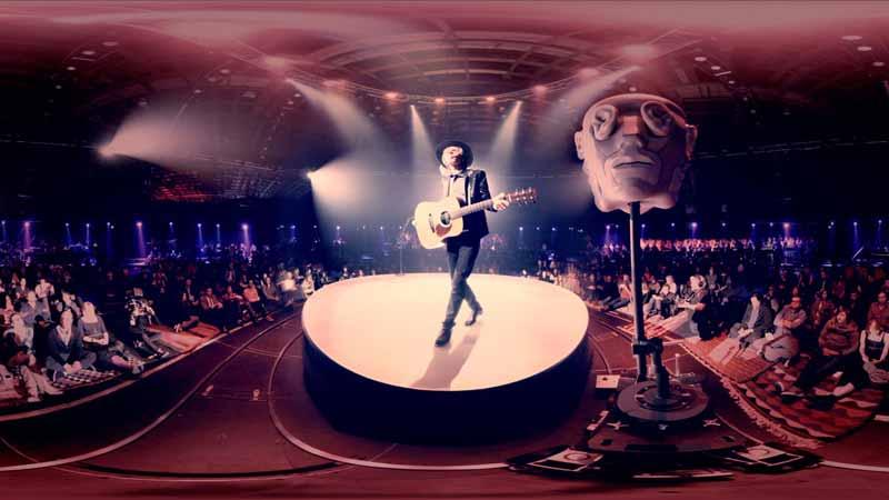 12 concerts et clips de musique en VR à découvrir !