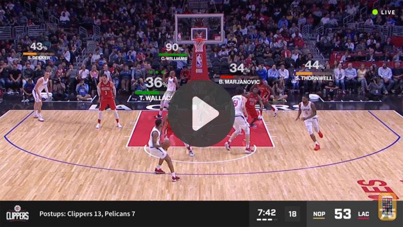 TOP 5 vidéos de la semaine : la NBA se met à la réalité augmentée !