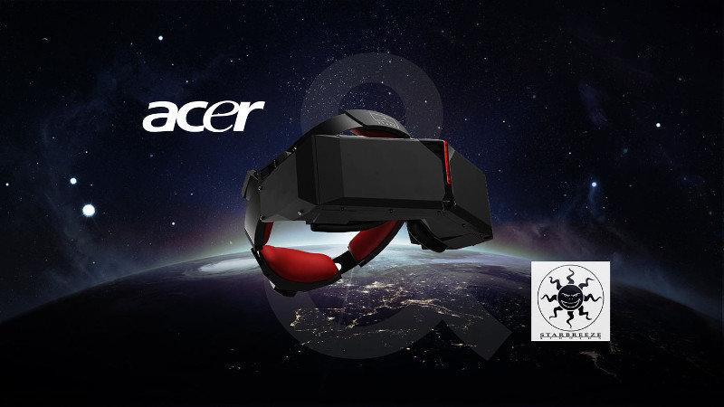 Acer et Starbreeze s'associent pour développer le casque StarVR