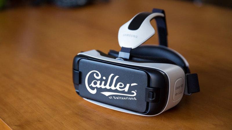 Une réalité virtuelle enrobée de chocolat