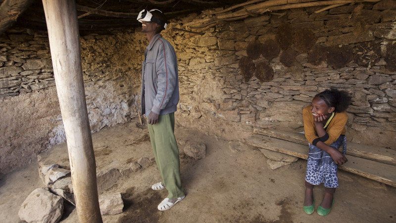 La VR au service des organismes de charité