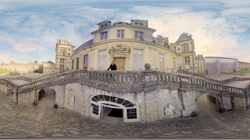 L'expérience 360° de la semaine : Visitez le Château de Fontainebleau