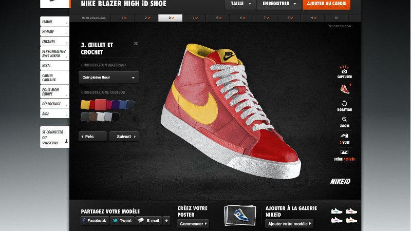 Personnaliser vos vêtements Nike avec la réalité augmentée