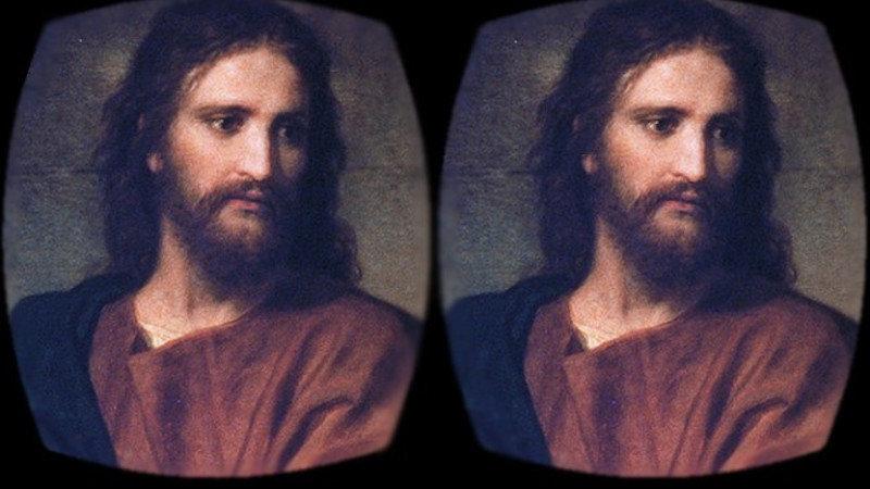 Jésus Christ s'invite dans la réalité virtuelle