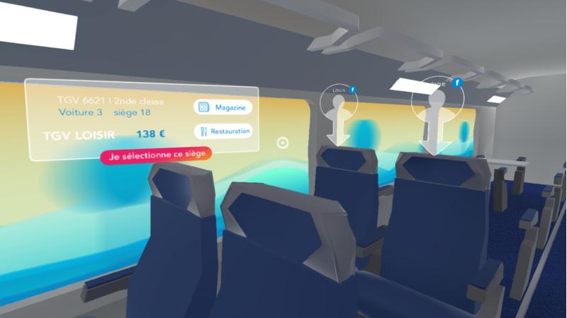 Réservez vos billets de train en VR avec Voyages-Sncf