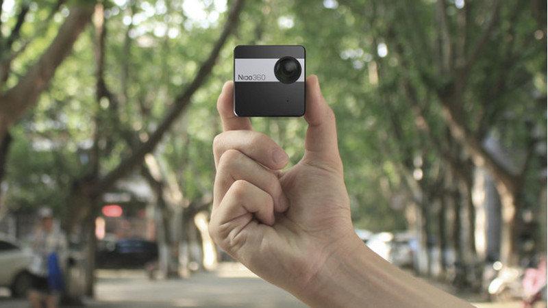 Nico360 : la plus petite caméra 360° au monde