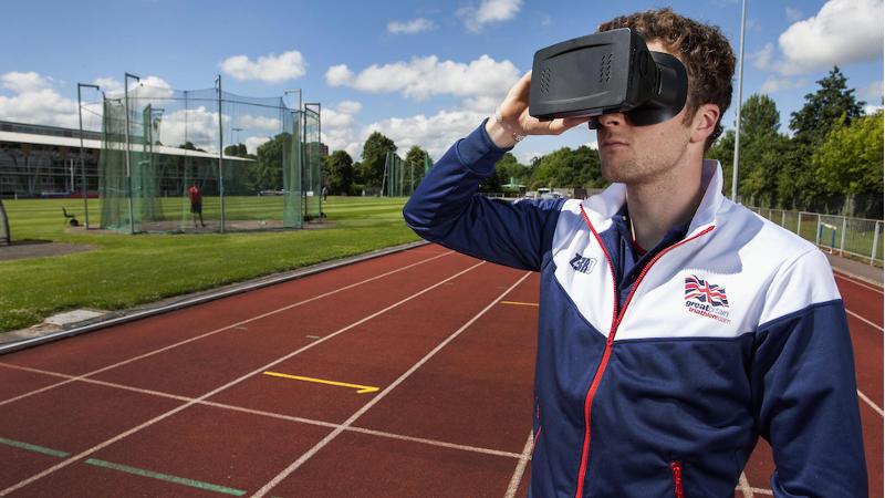La réalité virtuelle pour entraîner les athlètes