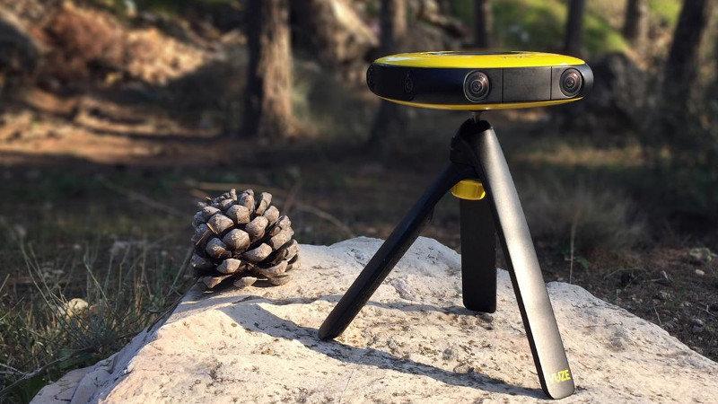 Une nouvelle caméra 360° baptisée Vuze
