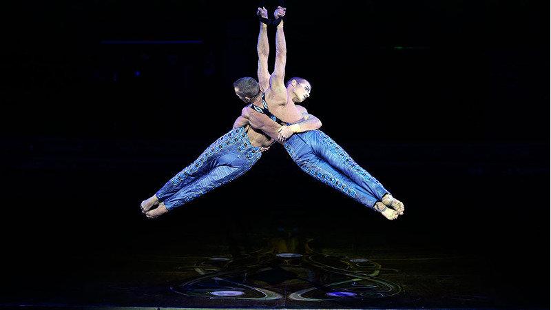L'expérience 360° de la semaine : un spectacle du Cirque du Soleil