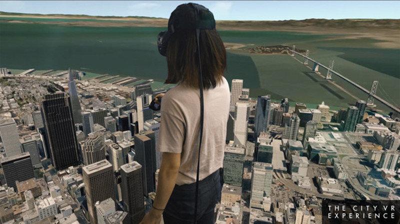 Dans la peau d'un géant avec la réalité virtuelle