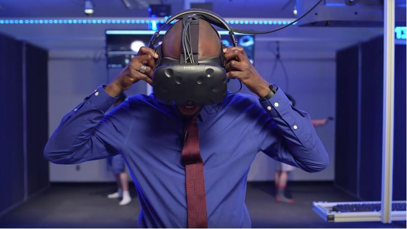 Une salle d'arcade VR lève des fonds pour un hôpital