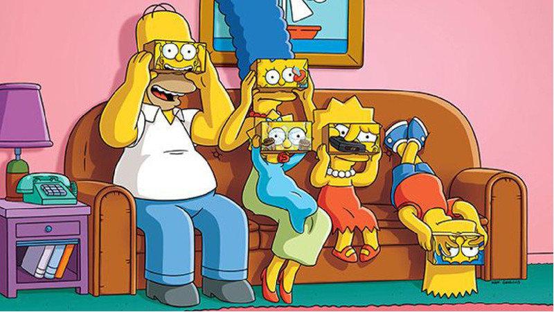 Les Simpson passent à la réalité virtuelle