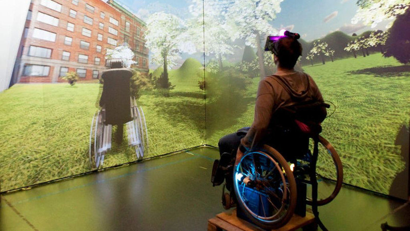 Vivez le quotidien d'un jeune handicapé en VR