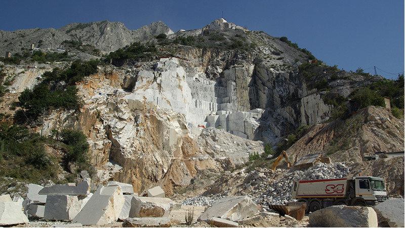 L'expérience 360° de la semaine : Sur les falaises de marbre