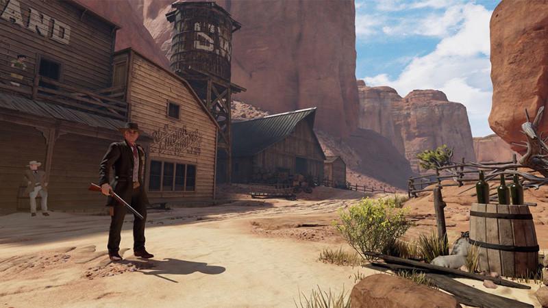 Une application VR basée sur la série Westworld