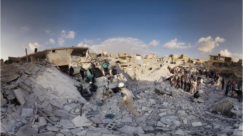 Un documentaire en réalité virtuelle sur le confit syrien