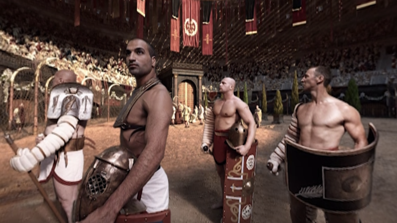 Un film en VR pour représenter un combat de gladiateurs