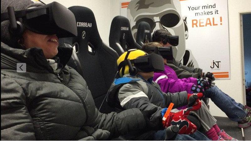 Quand la réalité virtuelle entre en mouvement