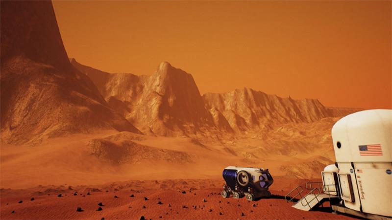 La VR et la NASA vous emmènent sur Mars !