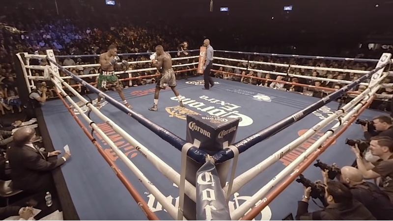 La vidéo 360° de la semaine : au coeur d'un match de boxe