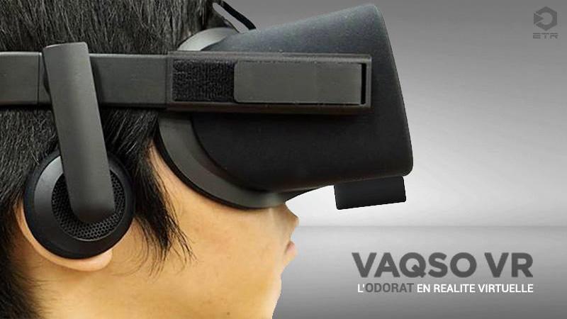 Vasqo VR : exercer son odorat avec la réalité virtuelle ?