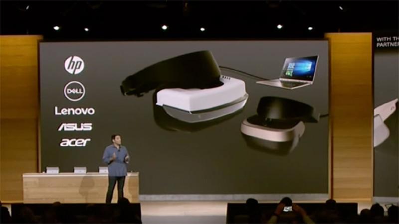 Un casque Acer présenté par Microsoft