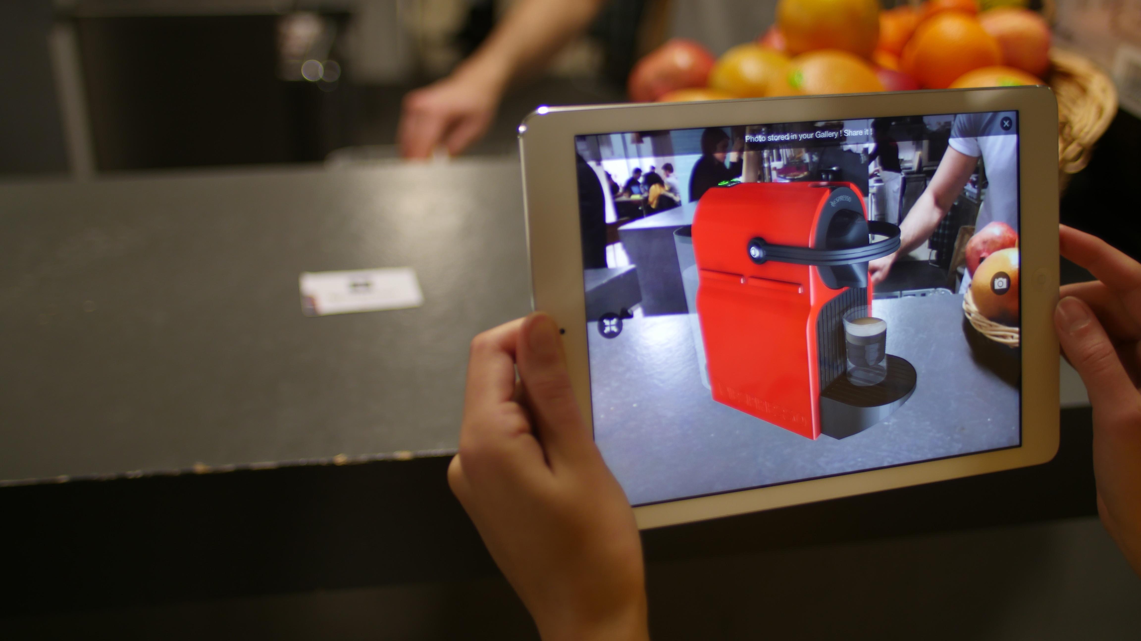 Acheter en ligne grâce à la réalité augmentée
