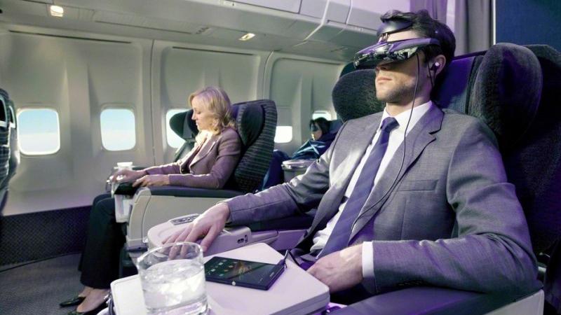 Prenez l'avion en Business Class grâce à la VR