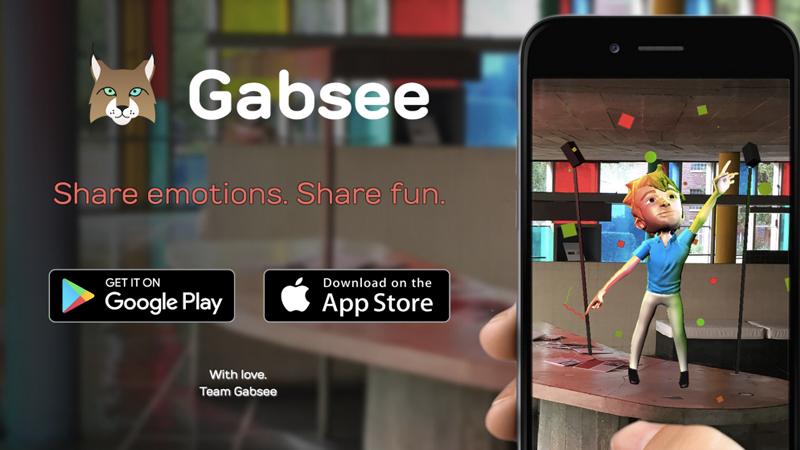Gabsee : exprimez-vous à travers des hologrammes !