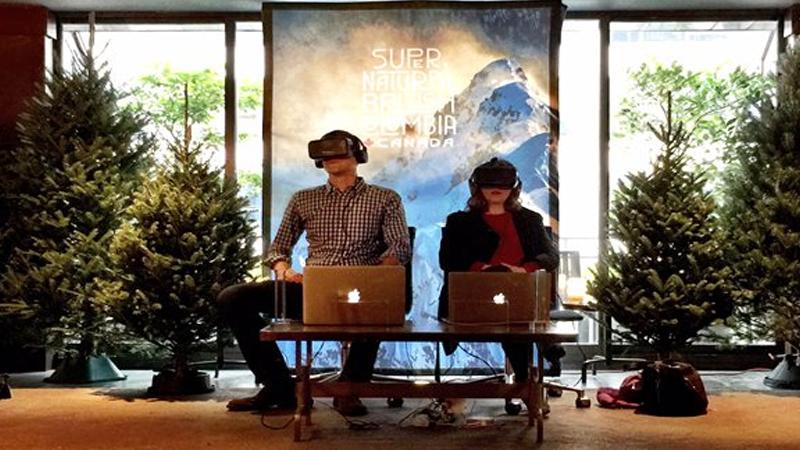 Destination VR : une salle d'arcade pour la réalité virtuelle