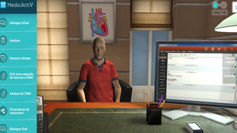 Simforhealth : la formation des médecins grâce à la réalité virtuelle