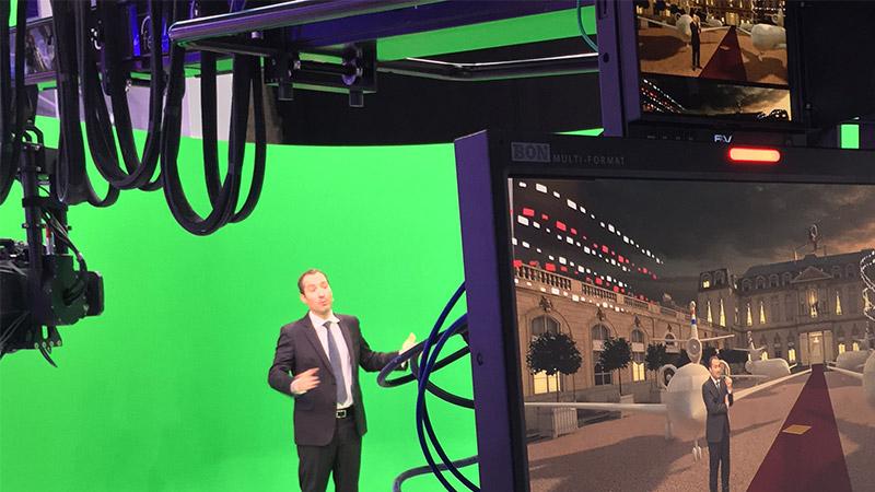 France 2 et la VR lors du second tour des présidentielles.