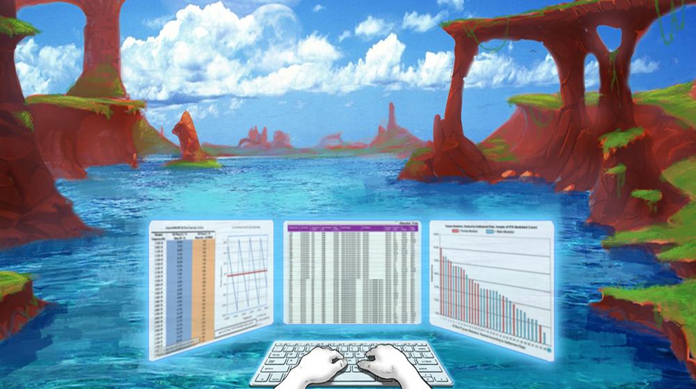 Mure VR:  une application pour prendre des vacances au bureau !