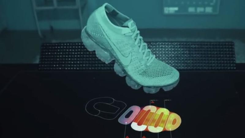 Nike : des conceptions grâce à la réalité augmentée ?