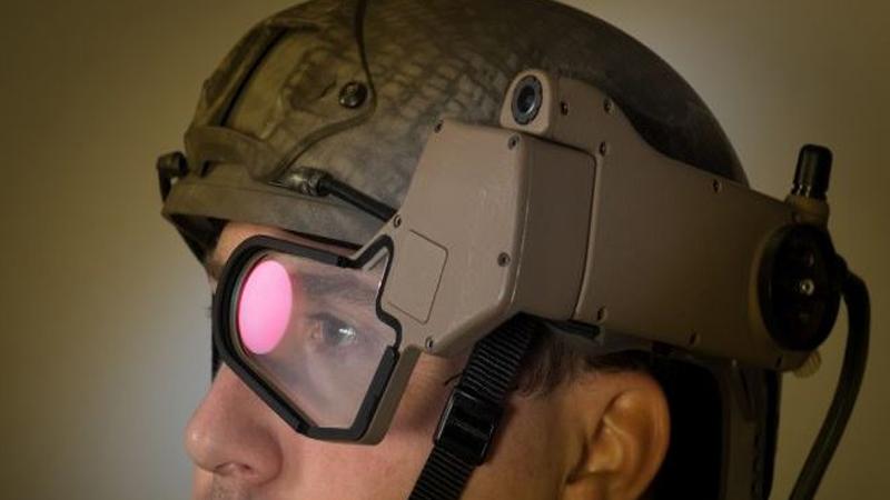 Q-Warrior : un casque AR pour l'armée américaine.