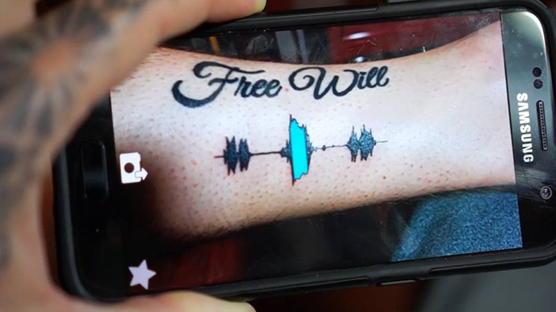 Skinmotion : des tatouages sonores et en réalité augmentée !