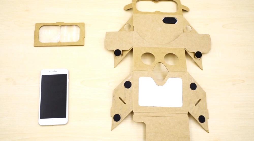 HoloKit : un Google CardBoard pour la réalité augmentée ?