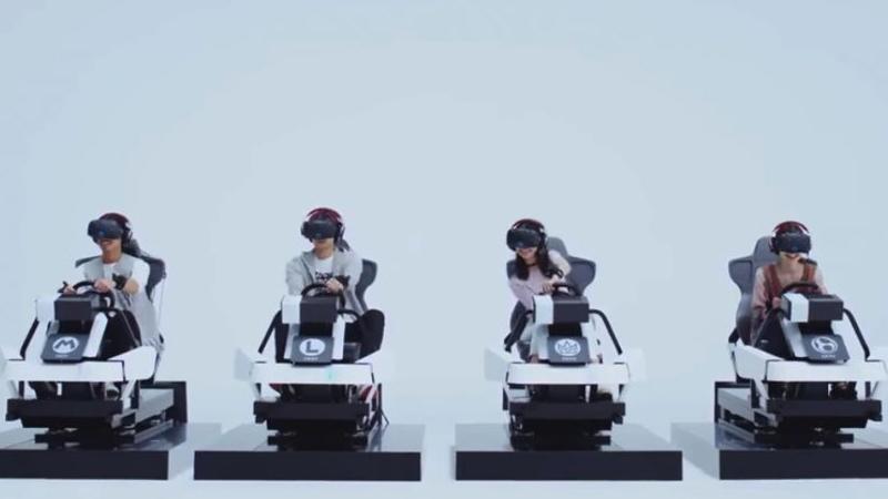 Mario Kart enfin en réalité virtuelle … au Japon !