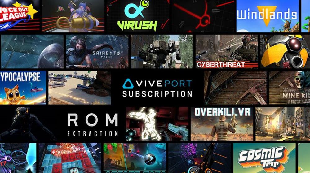 La plateforme HTC Viveport ajoute 75 titres à sa collection