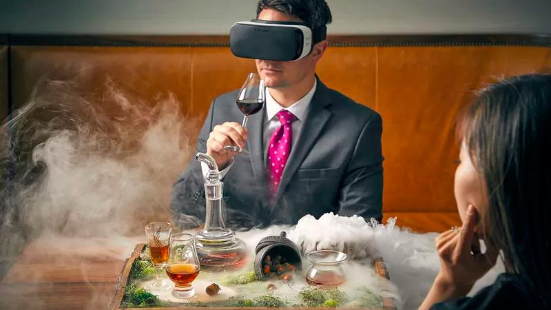Un cocktail en réalité virtuelle pour 95 dollars!