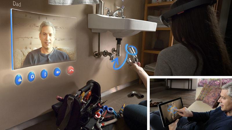 Que nous prépare Microsoft en matière de réalité augmentée?