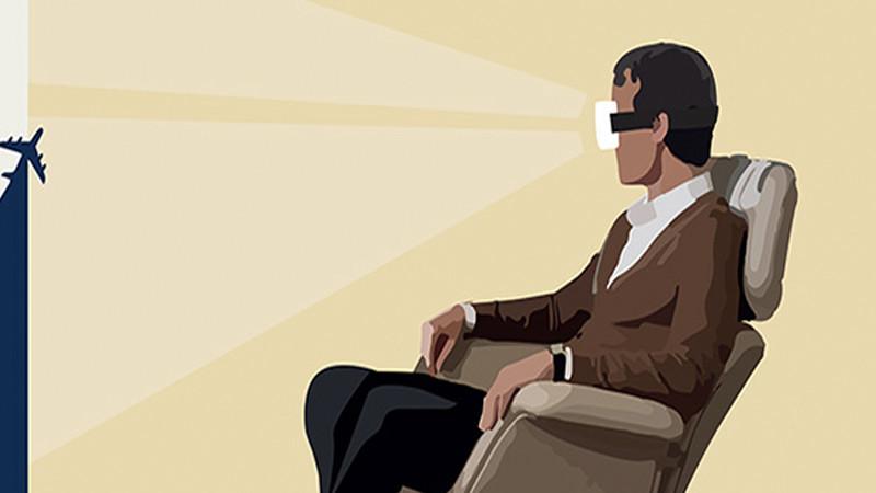 Air France : bientôt des casques VR dans les avions?