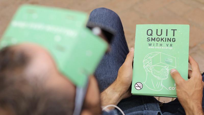 De la VR pour arrêter de fumer?