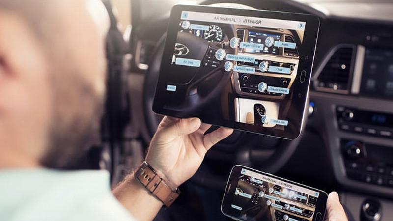 C'est au tour de Hyundai d'adopter la réalité augmentée