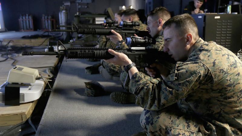 De la réalité virtuelle pour entraîner les snipers !