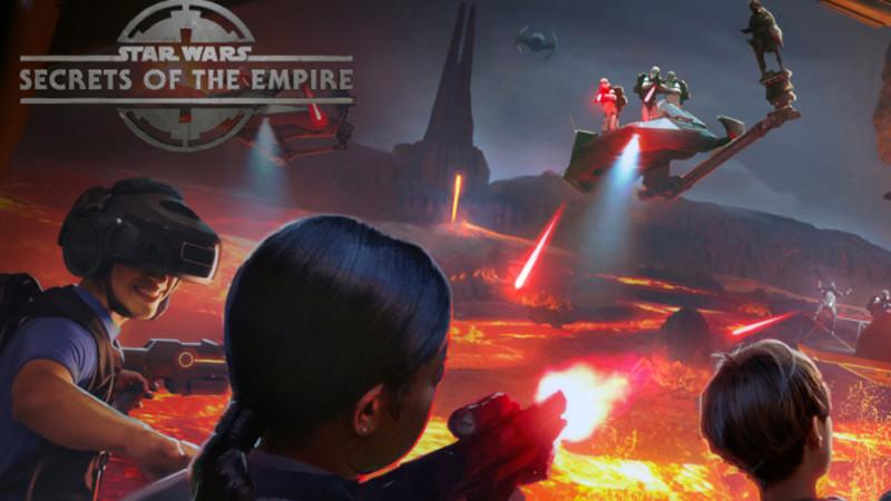 Star Wars en VR dans les parcs Disney !