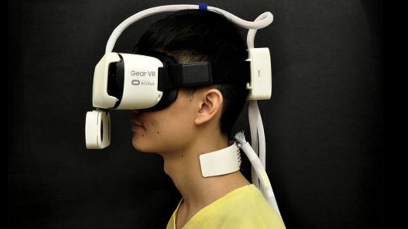 Ressentez la température en VR !